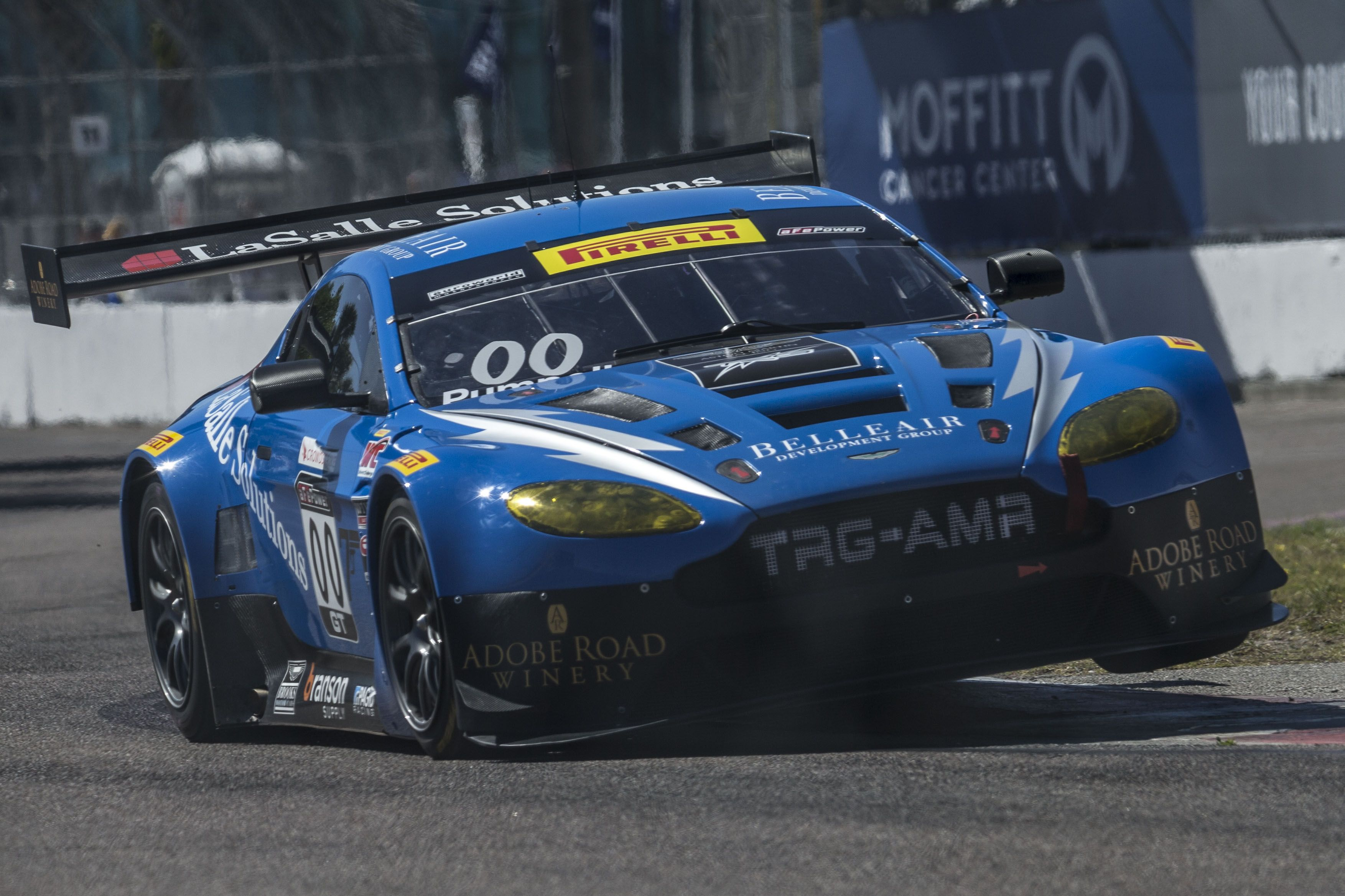 The V-12 Aston Martin Vantage GT3 Race Car Is Best Heard From Inside the Cabin