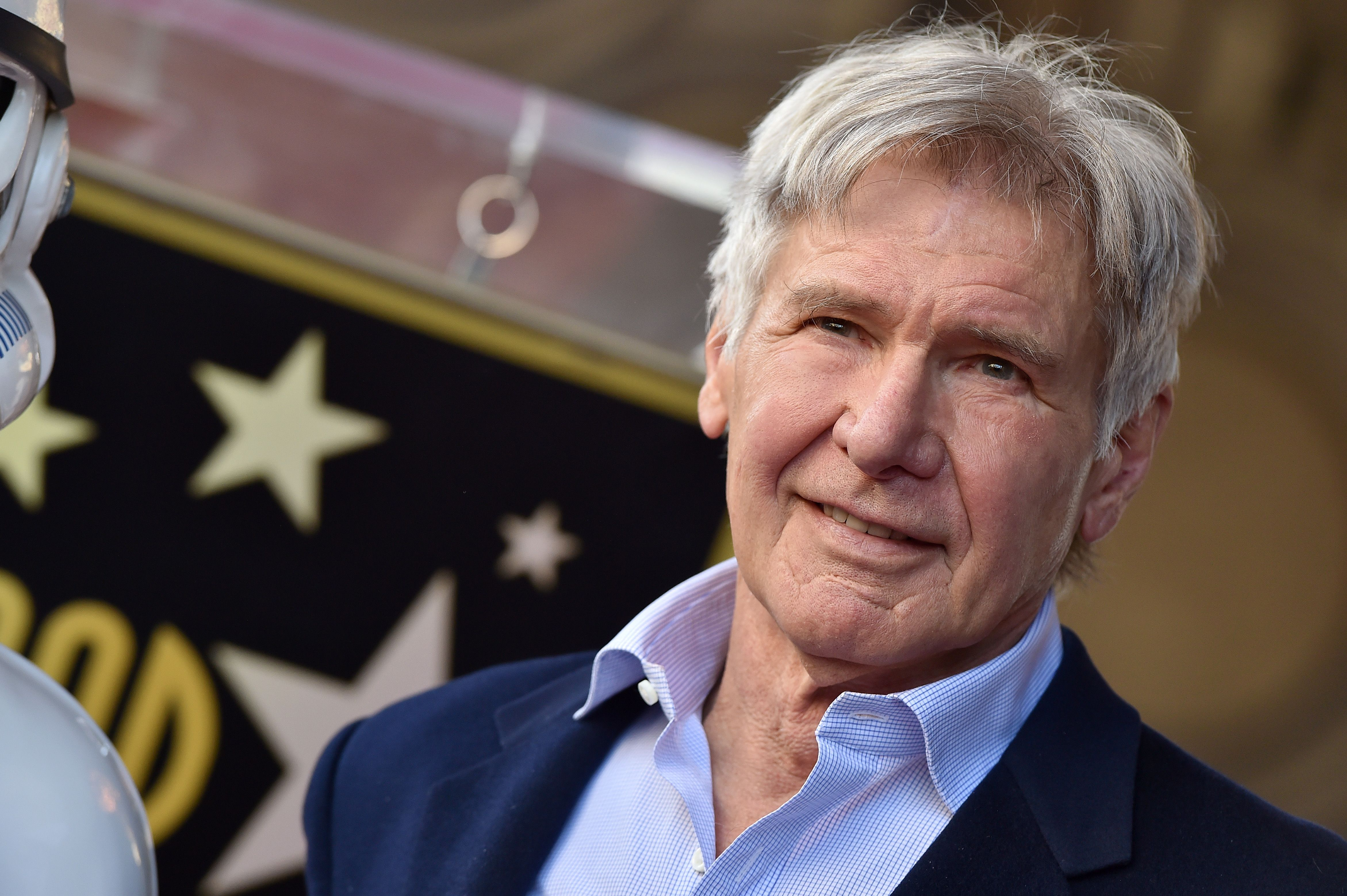 Harrison Ford at 76 The actor continues to star in blockbusters like Star Wars: The Force Awakens and Blade Runner 2049.