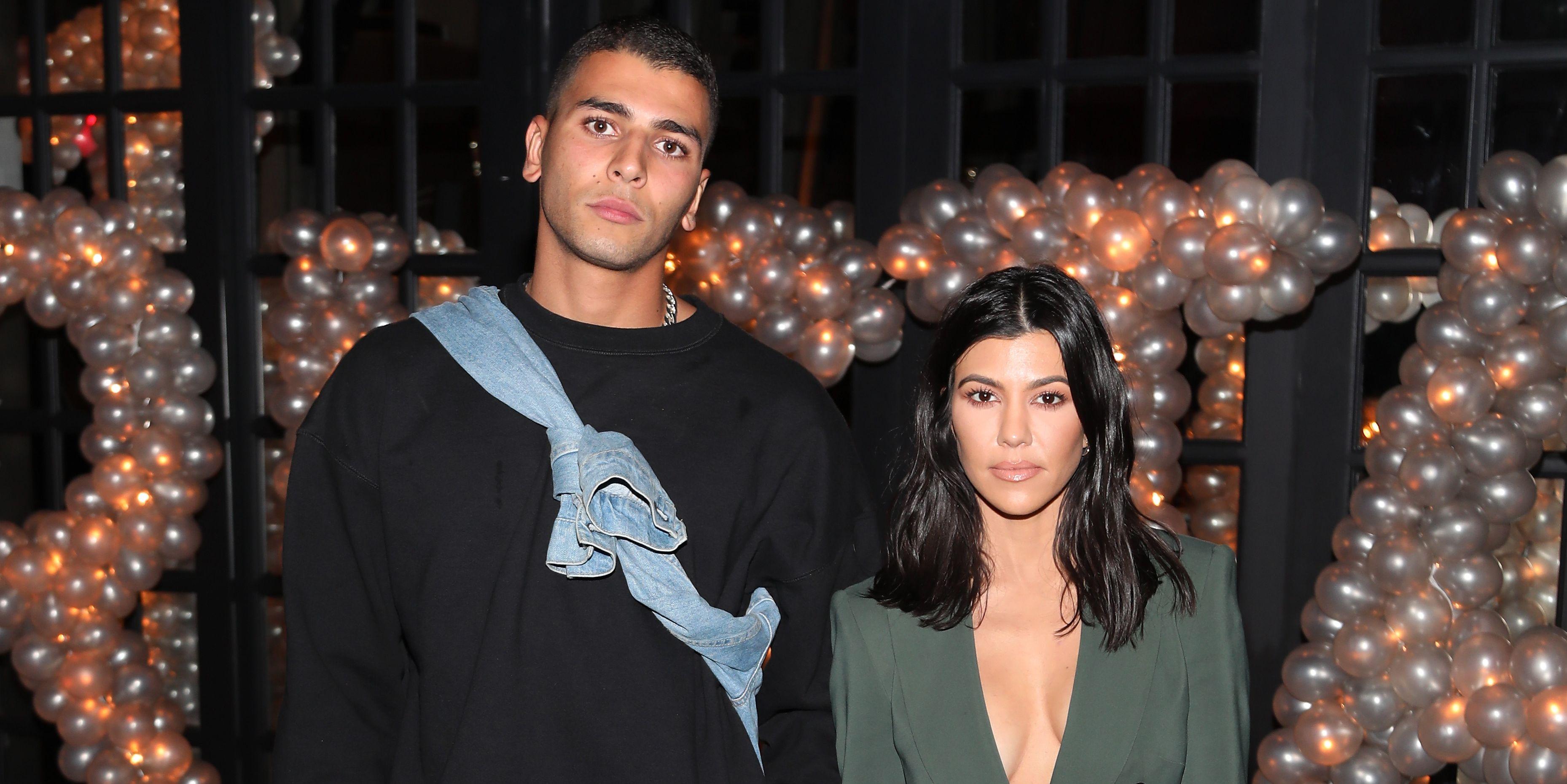 Kourtney Kardashian's Ex-Boyfriend Younes Bendjima Was Fully at Her Birthday Party