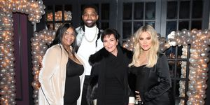 Kris Jenner, Khloe Kardashian, and Tristan Thompson