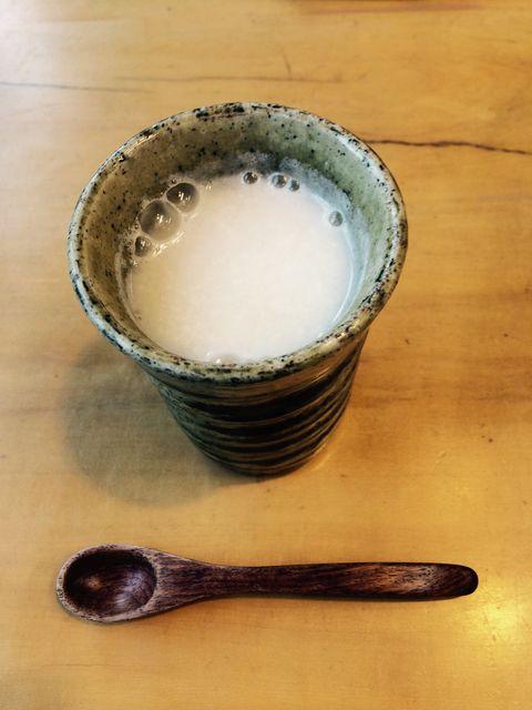 sweet sake made from koji malted rice