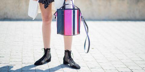 Pink, Street fashion, Leg, Footwear, Clothing, Human leg, Fashion, Ankle, Snapshot, Shoe,