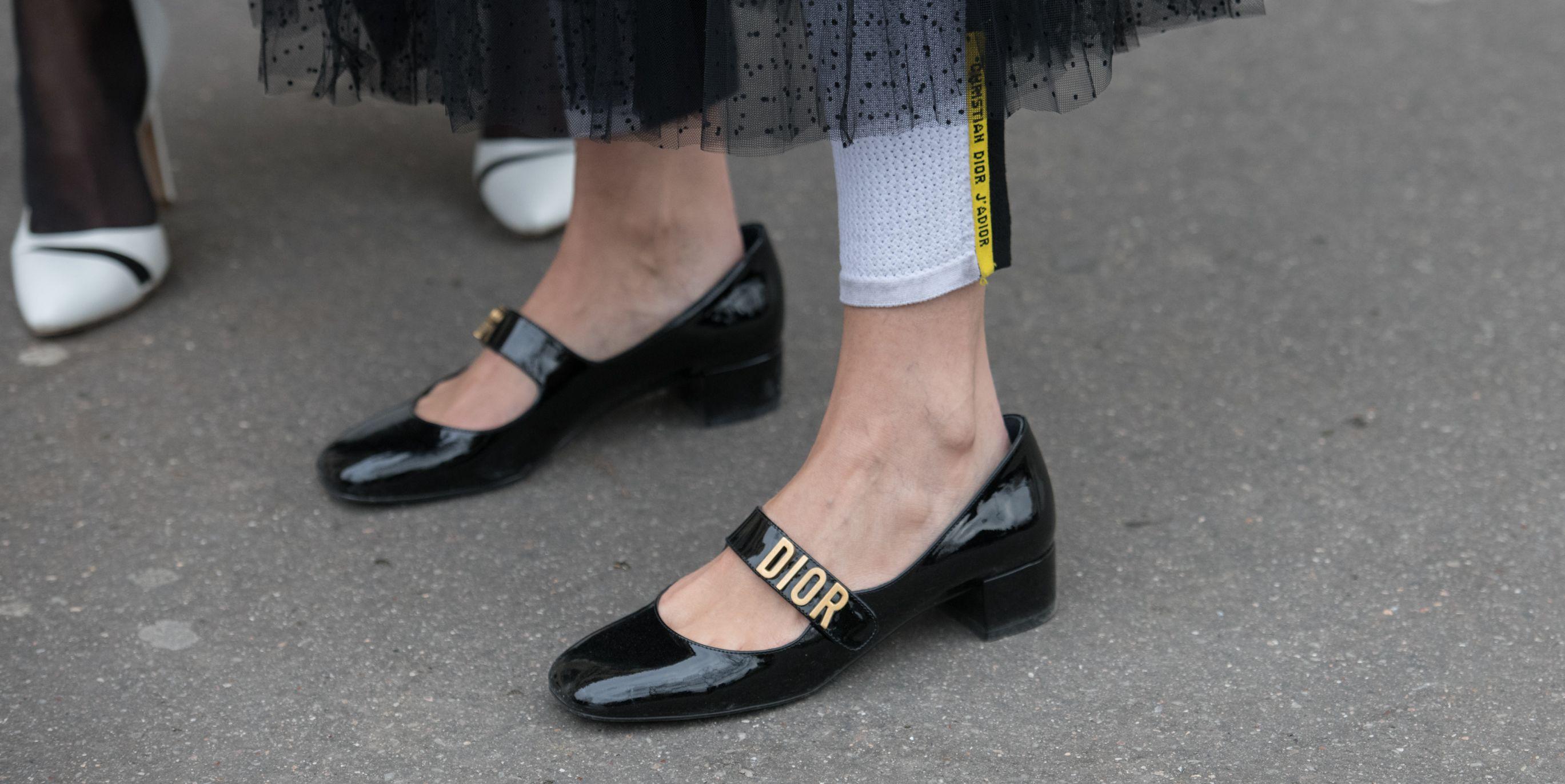 Streetstyle block heel