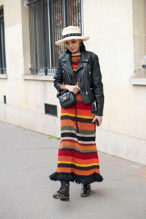 Street fashion, Clothing, Fashion, Snapshot, Footwear, Textile, Photography, Dress, Pattern, Style,