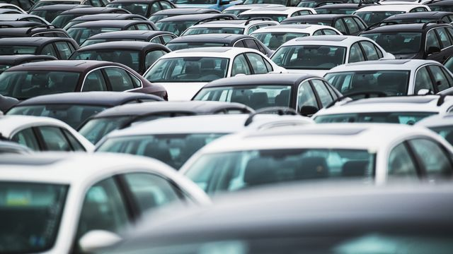 a massive lot of recalled vehicles