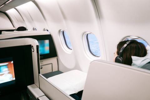 The two words this frequent flier says guarantees her a flight upgrade