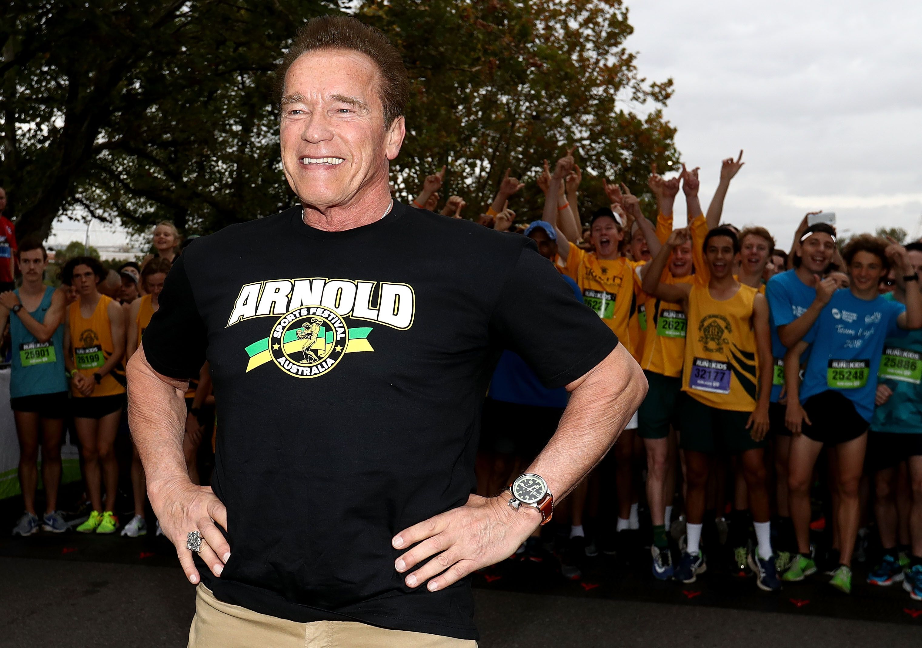 1f719940 8 Arnold Schwarzenegger Workout Instagrams That Prove He's Way Too Fit for  His Age