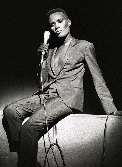 Grace Jones Performs Live In Amsterdam