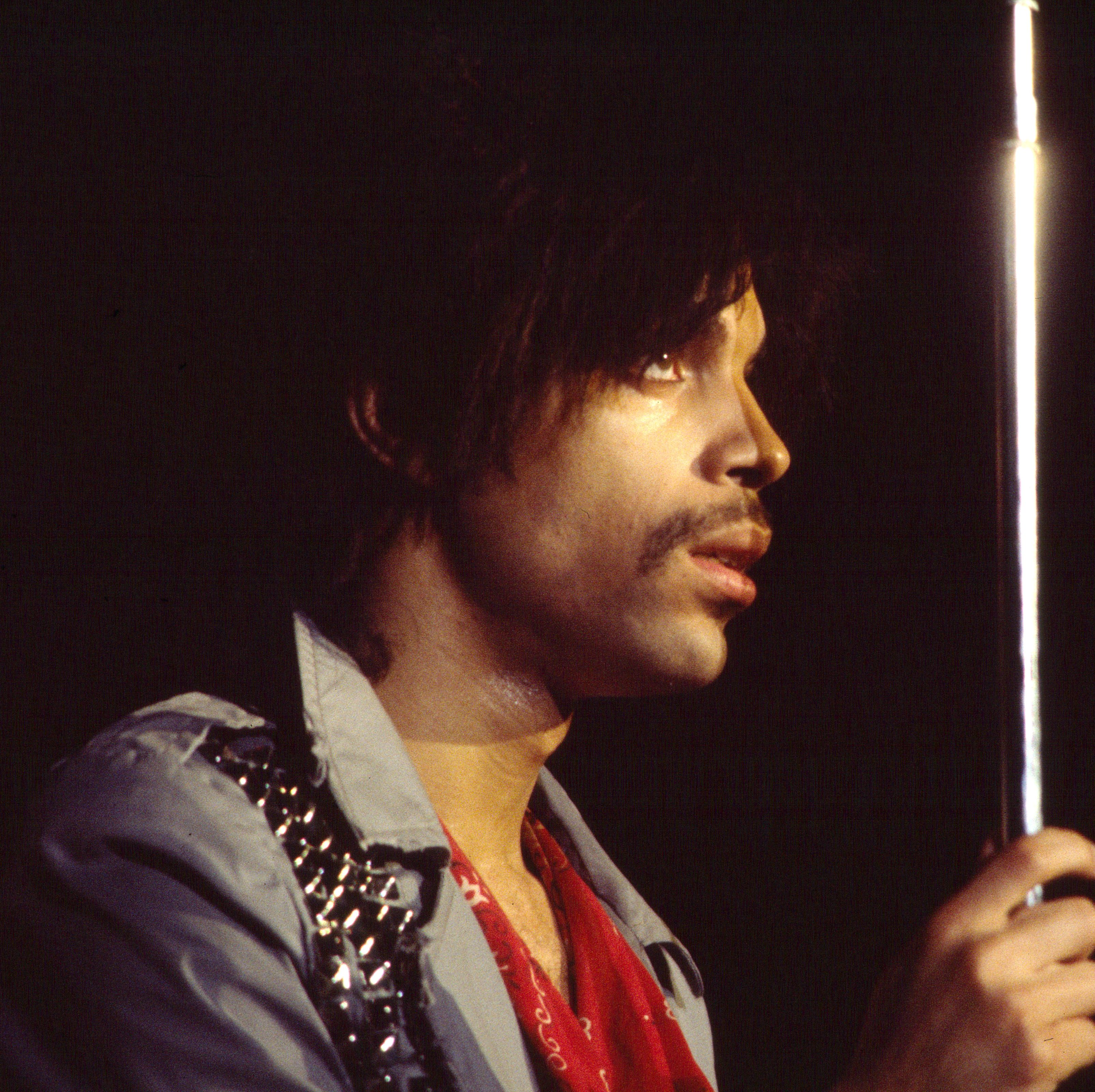 1981: Prince The iconic musician and performer kept a neat, trimmed 'stache that complemented his groovy outfits and various hairstyles.