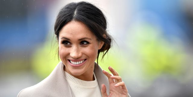 belfast, united kingdom   march 23  meghan markle is seen ahead of her visit with prince harry to the iconic titanic belfast during their trip to northern ireland on march 23, 2018 in belfast, northern ireland, united kingdom  photo by charles mcquillangetty images