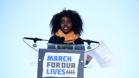 Naomi Wadler at March for Our Lives