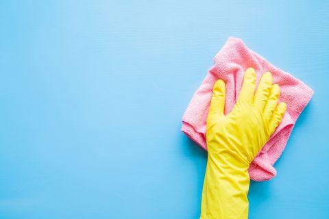 Blue, Yellow, Pink, T-shirt, Textile, Frozen dessert,
