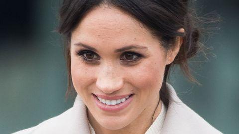 673016ce9757 Meghan Markle s Royal Wedding Makeup Shows Off Her Freckles