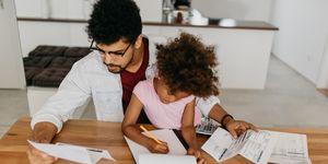 Single parent struggling with debt