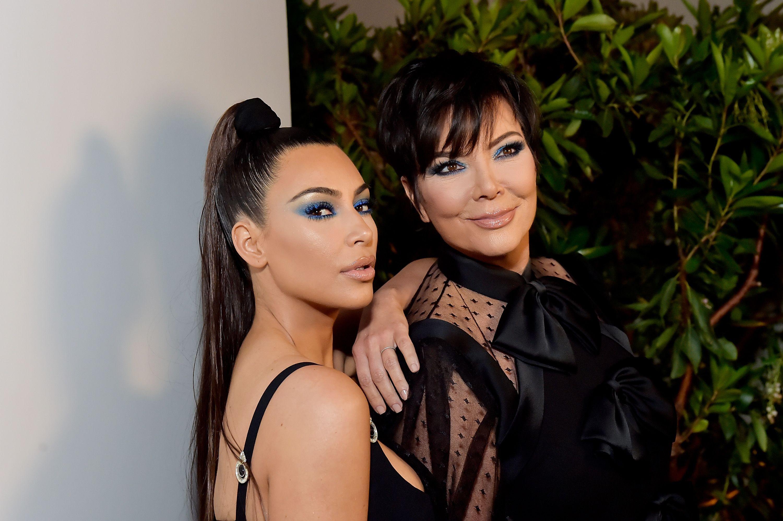 Kim Kardashian Posted an Amazing Throwback Photo of Kris Jenner Wearing a Bikini in the '80s