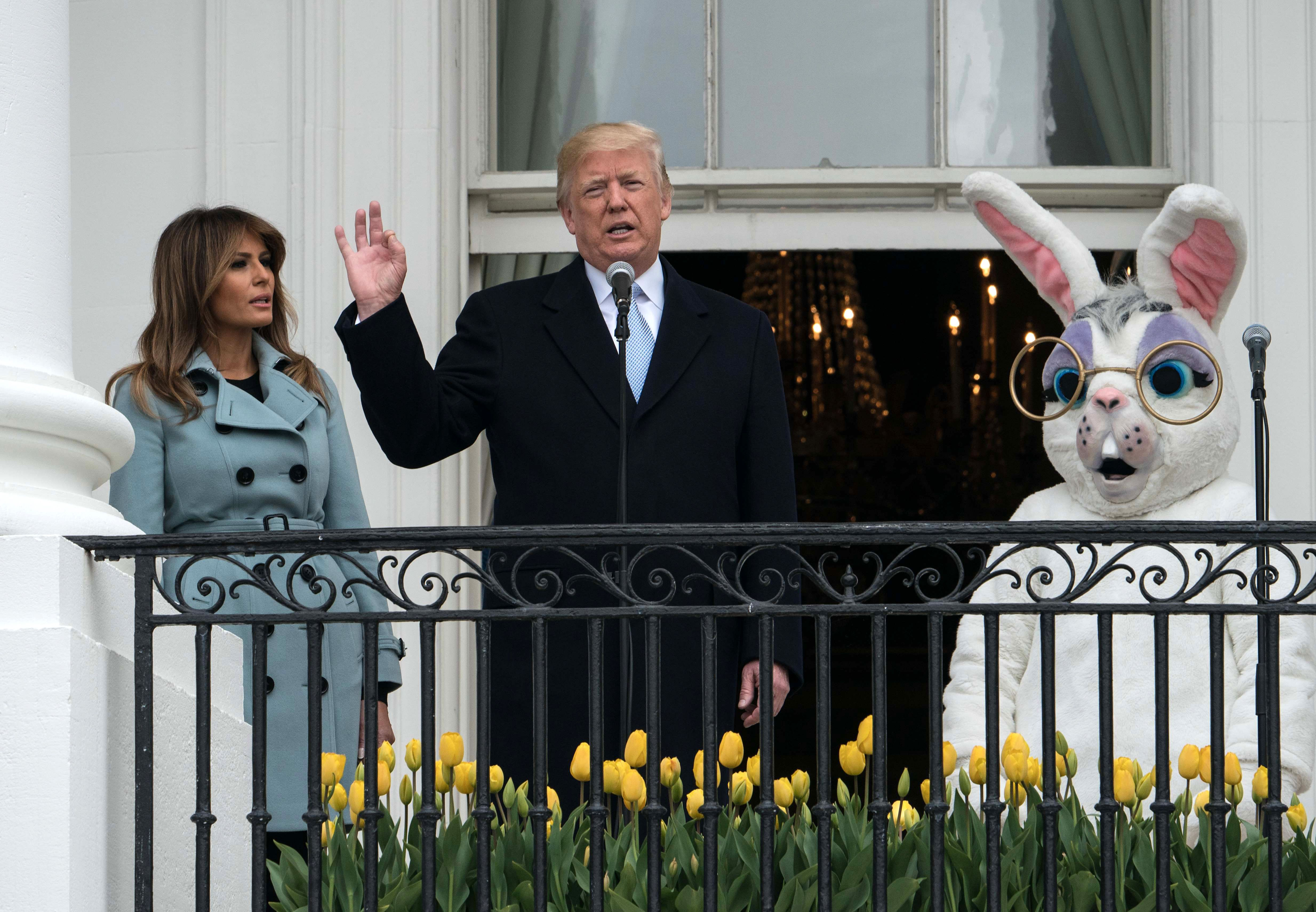 trump easter