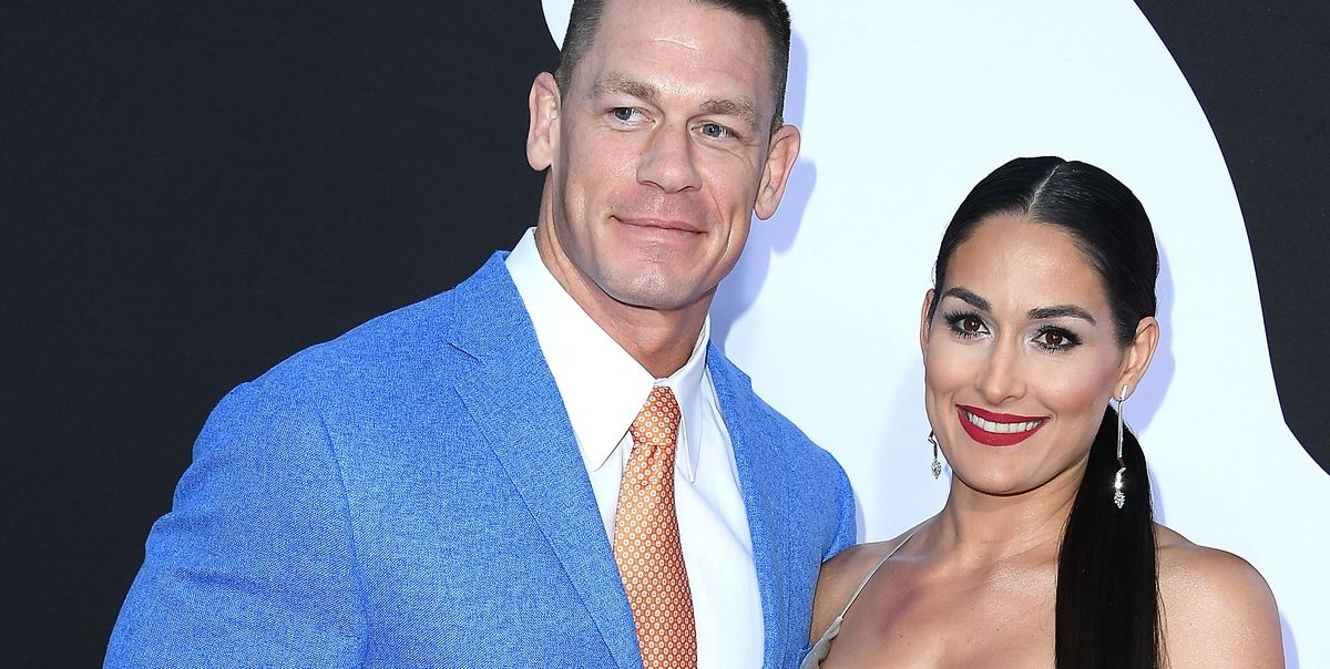 John Cena And Nikki Bella Share Cryptic Messages On Wedding Date - John Cena Nikki -8654