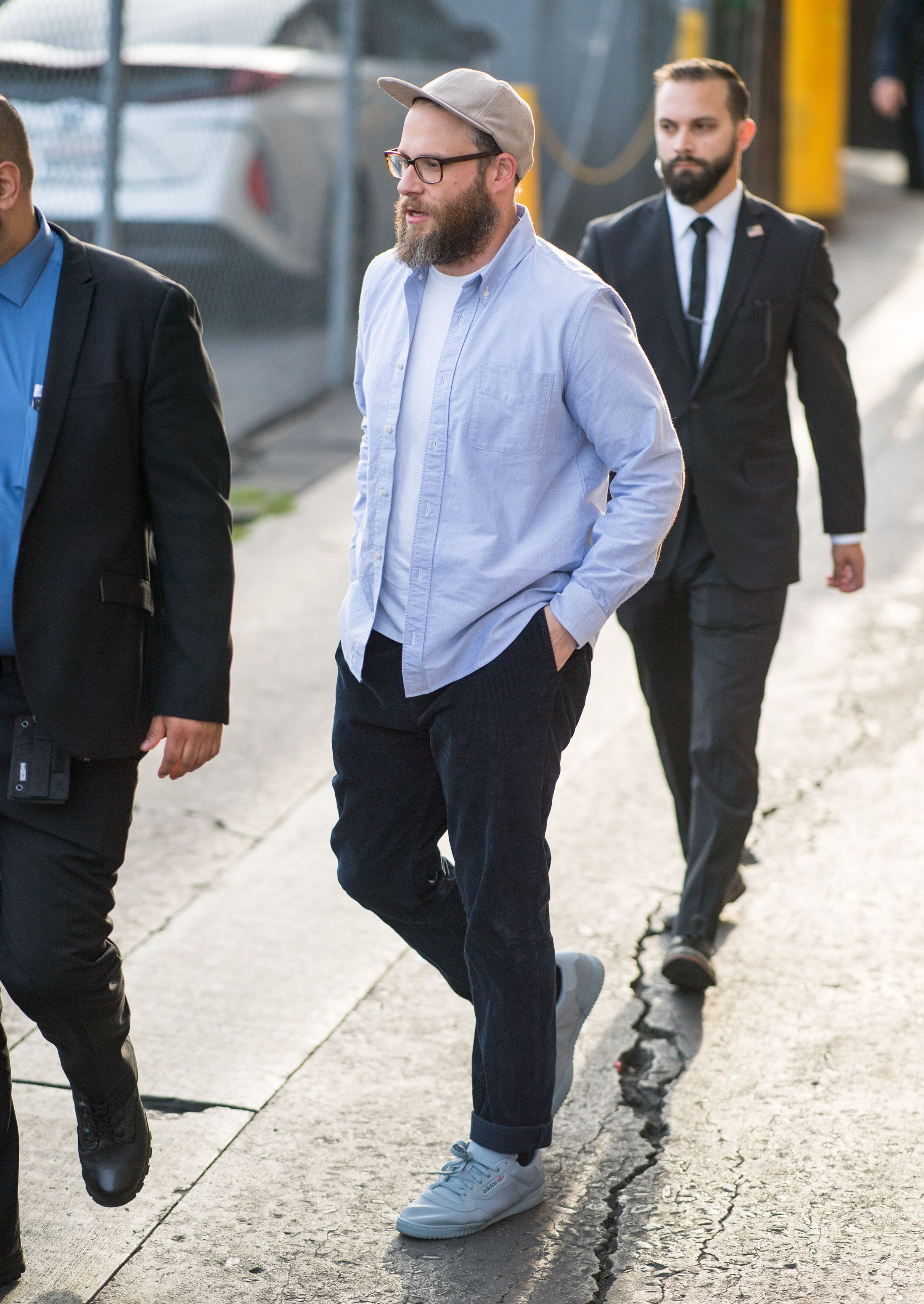 Seth Rogen Knows How Stockier Guys Should Dress