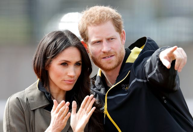 bath, united kingdom   april 06 embargoed for publication in uk newspapers until 24 hours after create date and time meghan markle and prince harry attend the uk team trials for the invictus games sydney 2018 at the university of bath on april 6, 2018 in bath, england photo by max mumbyindigogetty images