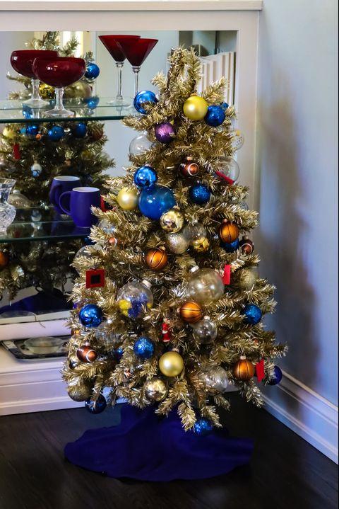Christmas Themes.15 Brilliant Themed Christmas Tree Ideas Elegant Themed