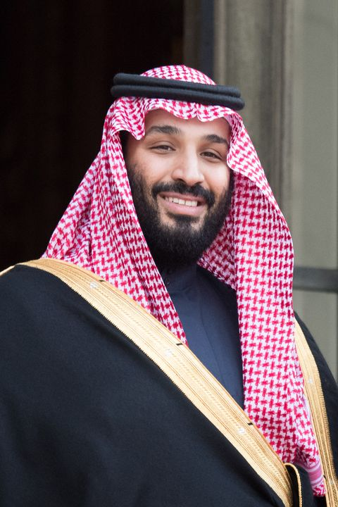 State Dinner In Honor Of Saudi Arabia Crown Prince Mohammed Bin Salman  At Elysee Palace