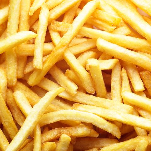French fries, Junk food, Fried food, Dish, Fast food, Food, Side dish, Cuisine, Kids' meal, Deep frying,