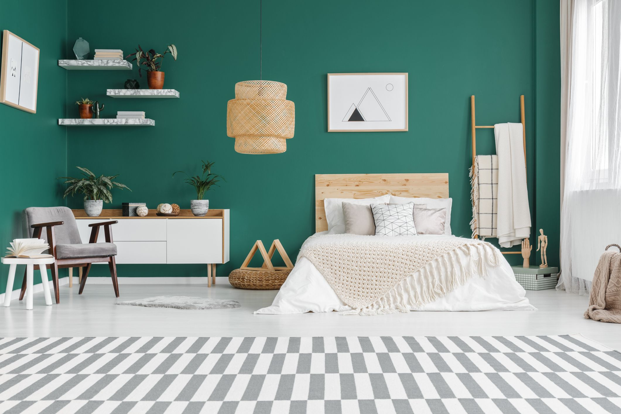 Green Has Been Revealed As The Best Bedroom Colour For A Good