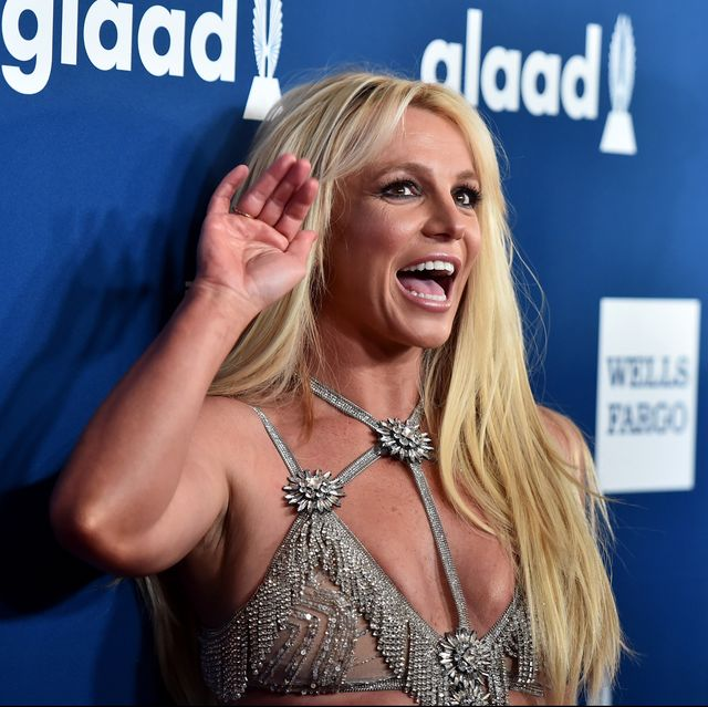 beverly hills, ca   april 12  honoree britney spears attends the 29th annual glaad media awards at the beverly hilton hotel on april 12, 2018 in beverly hills, california  photo by alberto e rodriguezgetty images