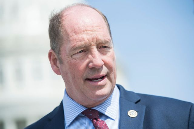 united states   april 13 rep ted yoho, r fla, talks with reporters at the base of the house steps after the last votes of the week on april 13, 2018 photo by tom williamscq roll call