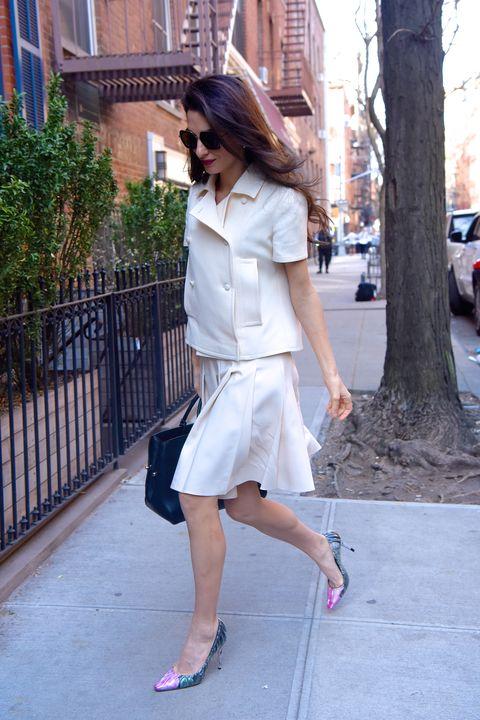 White, Clothing, Photograph, Street fashion, Fashion, Pink, Footwear, Snapshot, Shoe, Waist,