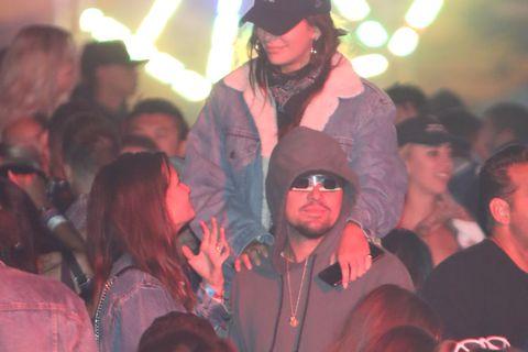 Leonardo DiCaprio at Coachella
