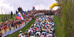 Dit zijn alle beklimmingen van de Amstel Gold Race