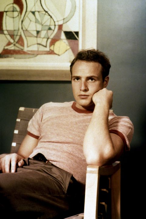Portraits of American Actor Marlon Brando