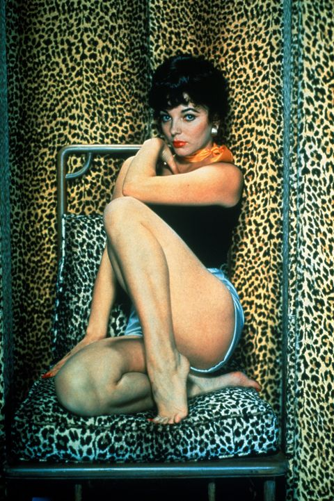 Portraits of British Actress Joan Collins