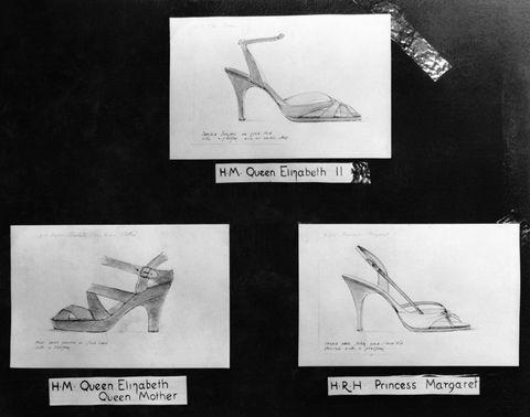 Croquis de chaussures