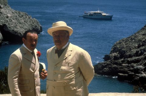 """Film """"Death on the Nile"""" by John Guillermin"""