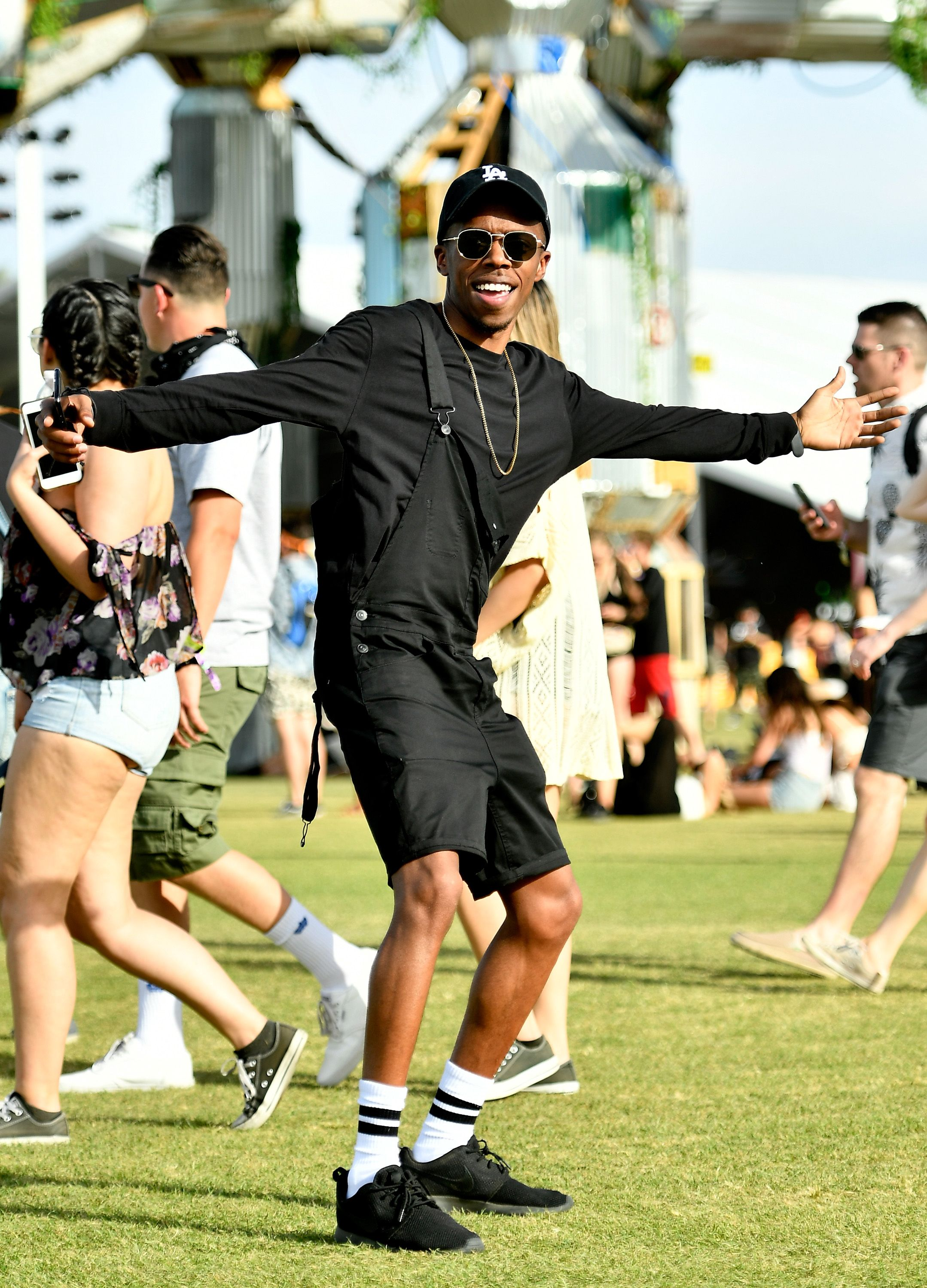 aee36fc40ddd60 The Best Style (and One Dude Romper) at Coachella 2018