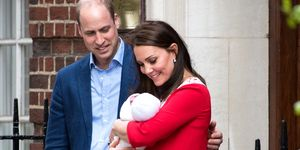 Prince William Duchess Catherine Louis Hospital