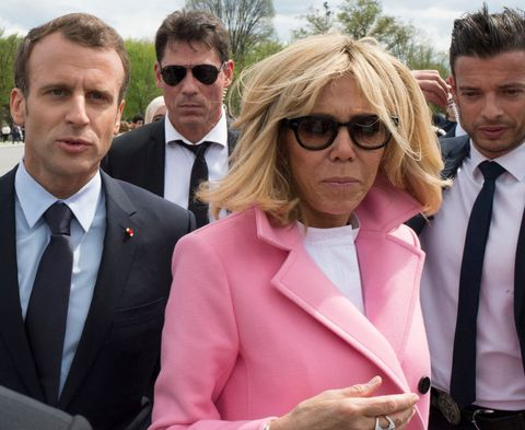 Emmanuel And Brigitte Macron Have The Hottest Security Guards In Politics French President Emmanuel Macron Stylish Security