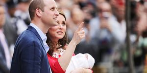 Duchess Catherine Prince William Louis Hospital