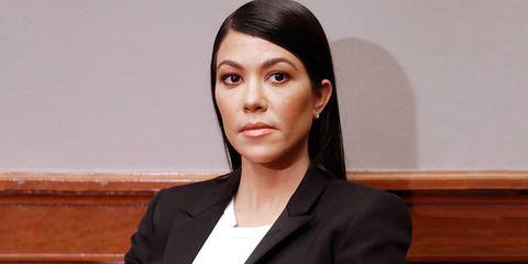 Kourtney Kardashian Congress suit