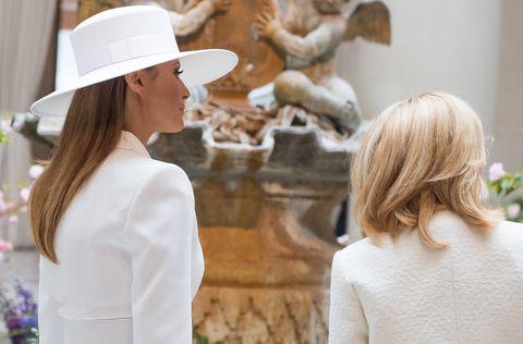 Fashion, Hat, Headgear, Sun hat, Photography, Street fashion, Fashion accessory, Dress, Fashion design, Fawn,