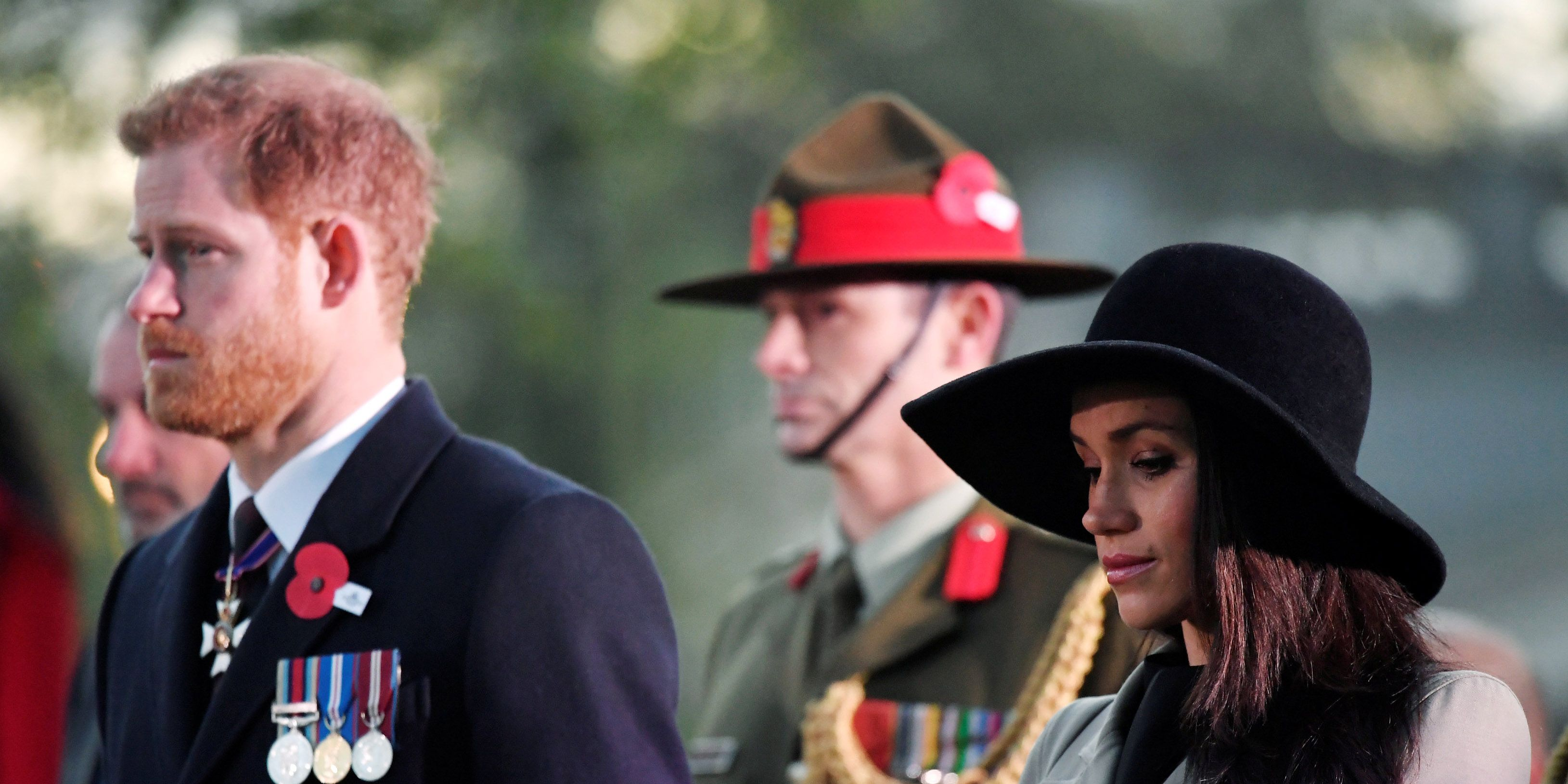 Meghan and Harry attend Dawn Service to commemorate Anzac Day