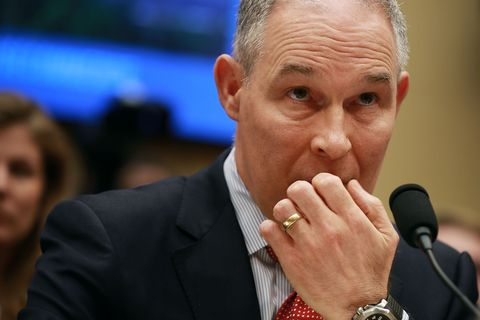 Of Course Scott Pruitt's EPA Stopped NASA From Studying Cancer Risk After Hurricane Harvey