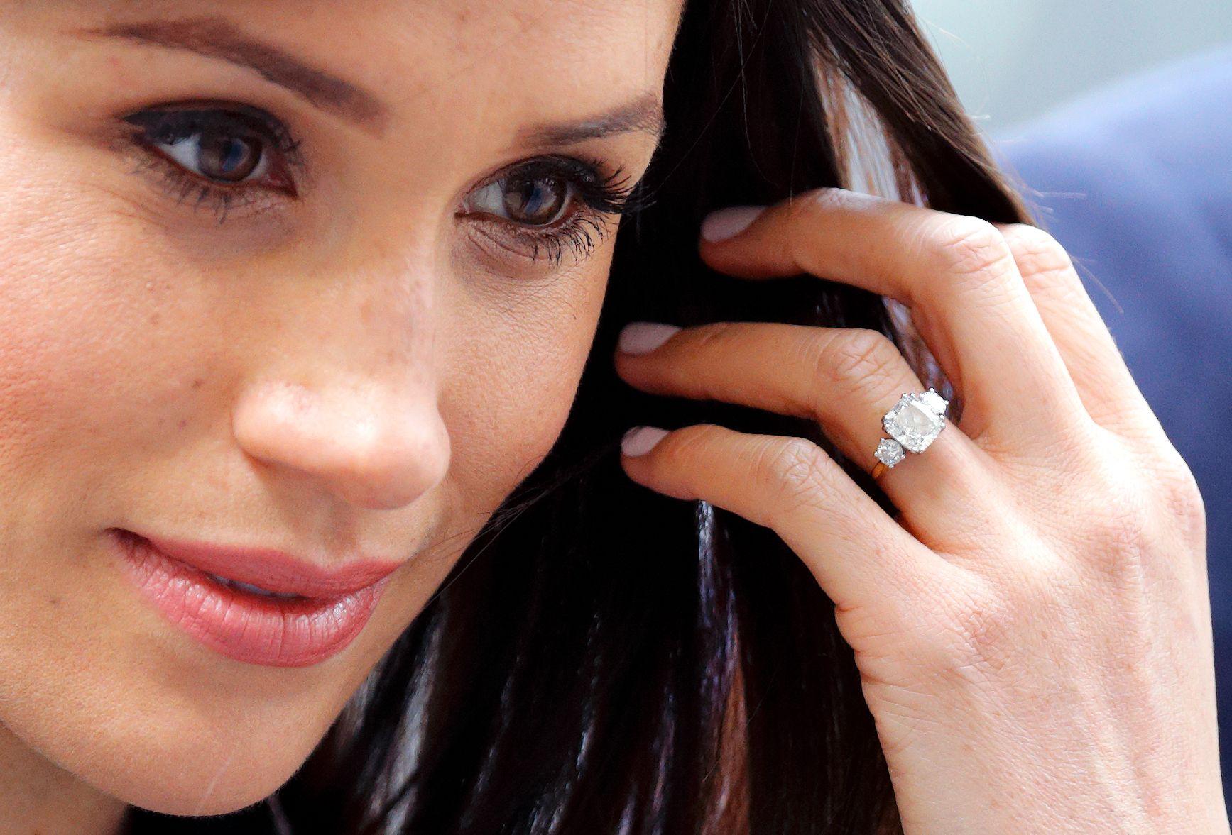 The Nail Polish Meghan Markle Wore For The Royal Wedding