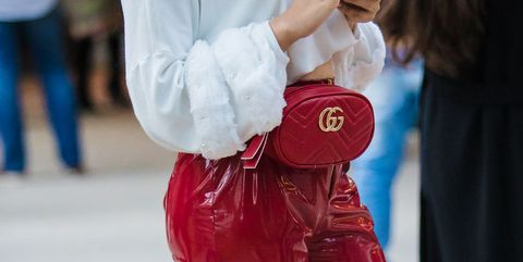 Red, White, Street fashion, Blue, Beauty, Snapshot, Pink, Fashion, Jeans, Shoulder,