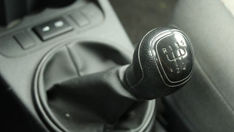 Gear lever.