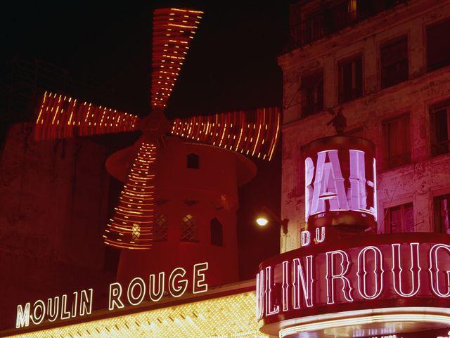 Moulin Rouge Paris Nicole Kidman Christina Aguilera A Night At The Moulin Rouge