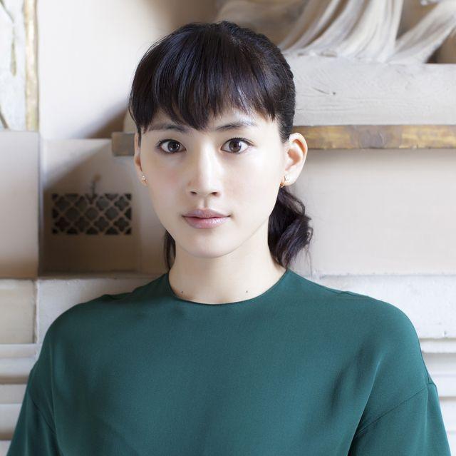 paris, france   06 mai 2014  portrait de lactrice japonaise haruka ayase à paris le 6 mai 2014, paris, france photo by laurent koffelgamma rapho via getty images