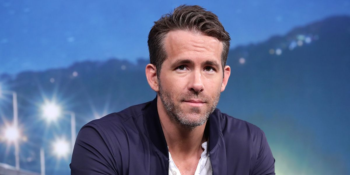 Ryan Reynolds Opens Up About Anxiety